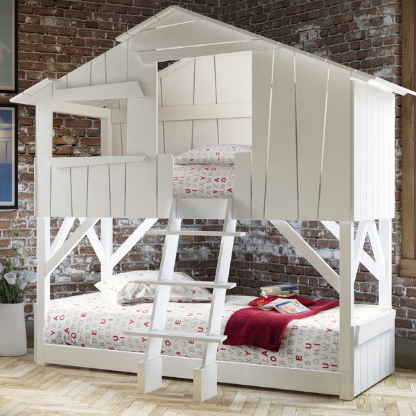 Tree House Kids Twin Bunk Bed