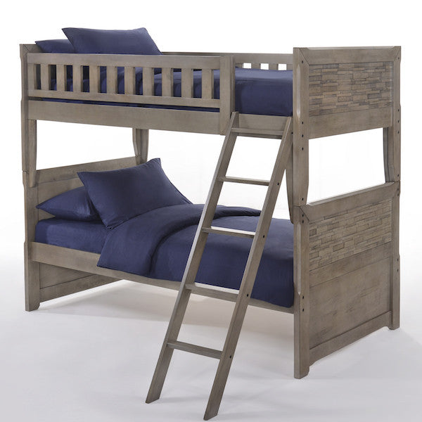 Dolphin Twin over Twin Bunk Bed