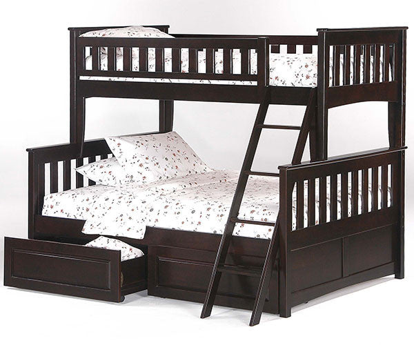 Spices Ginger Twin over Full Bunk Bed