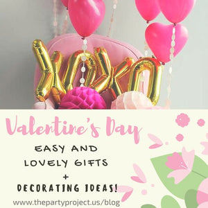 Easy and lovely VALENTINE'S DAY GIFTS and decorating ideas!