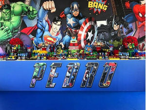 Superheroes and Avengers themed party ideas!