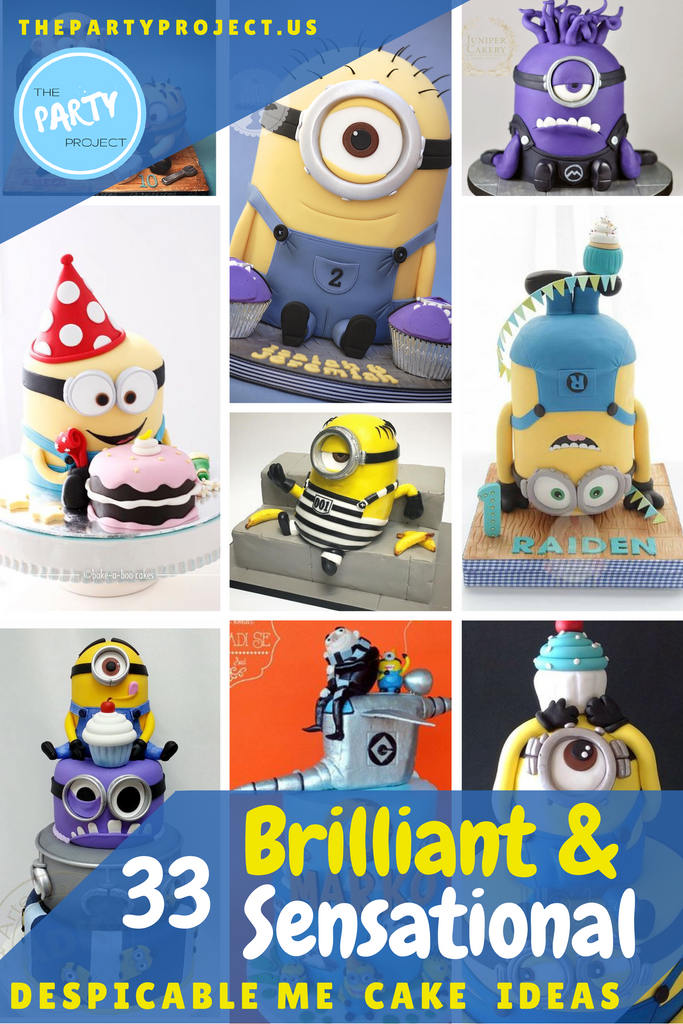 33 Most brilliant and sensational Minion cake ideas for a Despicable Me party!