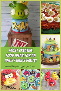 Hungry or Angry? The most creative food ideas for an ANGRY BIRDS PARTY!