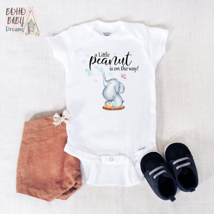 Pregnancy Announcement baby bodysuits and new baby reveal gifts!