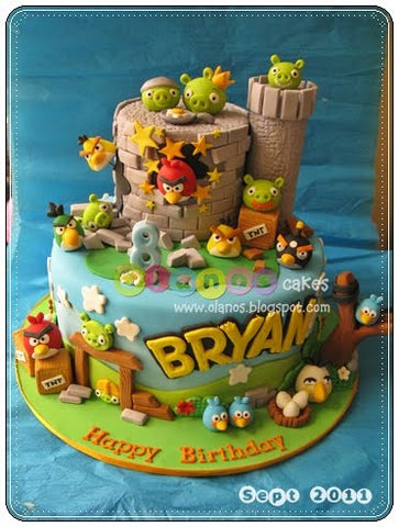 The Party Project - Kids party ideas - Angry Birds birthday blog