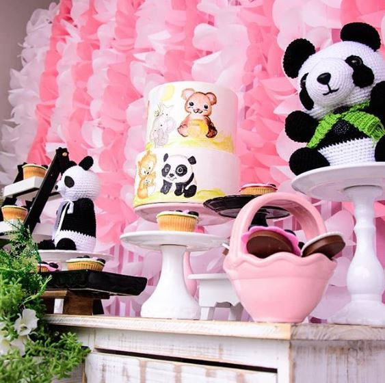 Panda Birthday party-Panda baby shower- panda birthday inspirations-Panda desser table-Panda candy bar-by the party project