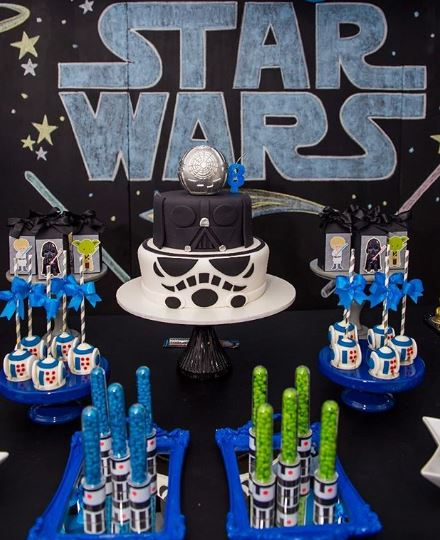 Star Wars birthday party idea by thepartyproject.us