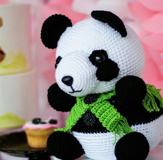 panda cupcakes-Panda Birthday-Panda birthday Party idea-Panda baby shower-By the party project