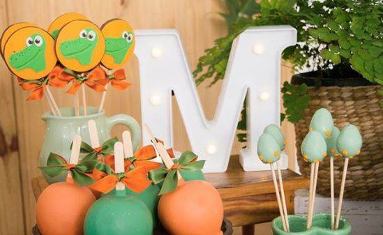 Dinosaur Birthday party-Dino birthday-Dinosaur dessert table ideas-The Good Dinosaur birthday-www.thepartyproject.us
