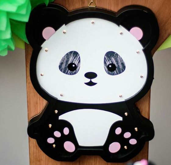 Panda birthday party-Panda baby shower idea-Girl panda decorations-by the party project