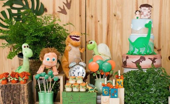 The Good Dinosaur Party idea-Dino party- Dinosaur Birthday-Dino party inspiration-www,thepartyproject.us