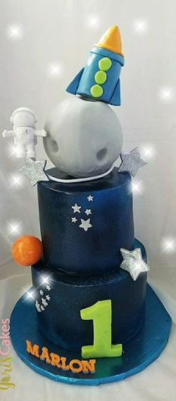 Space cake idea | Out of space party