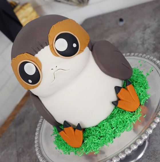 The Party Project | Star Wars party ideas | Porg cake | The last Jedi cake tutorial
