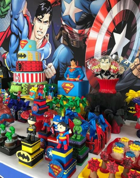 Superheroes and Avengers themed party ideas- Superheroes party inspirations- Avengers birthday party- Avengers baby shower-Su[erman party- Batman Birthday, Captain America Birthday party- Hulk party- by the party project.