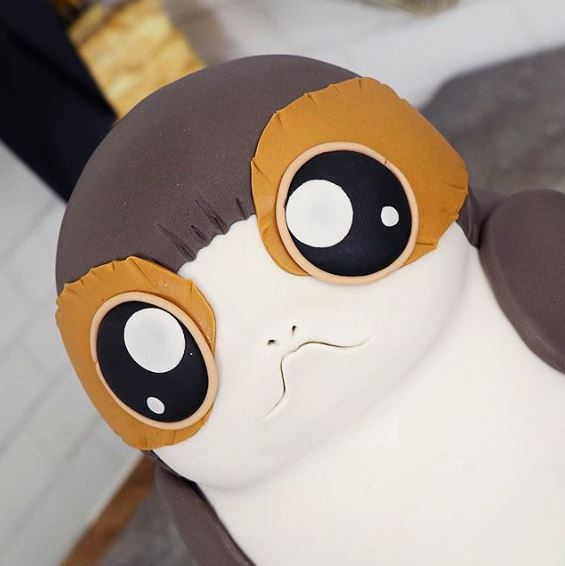 The Party Project | Star Wars cake tutorial | Porg cake DIY