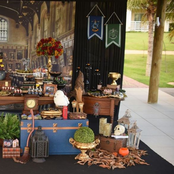 Harry Potter birthday party- Harry Potter party inspirations-Festa Harry Potter- Fiesta Harry Potter-by the party project,