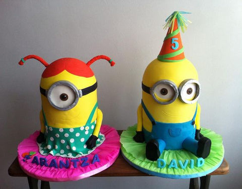 THE PARTY PROJECT | Blog - Minions party ideas Minion 3d boy and girl cake