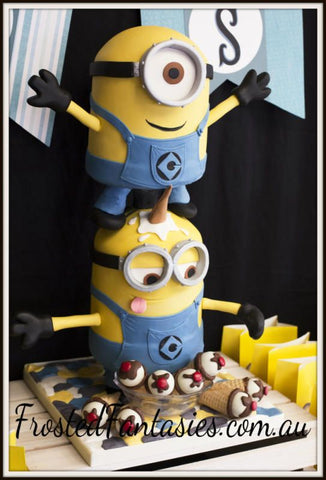 THE PARTY PROJECT | Blog - Minions party ideas 2 Minions cake