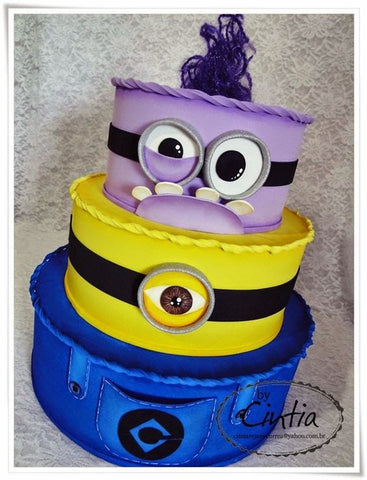THE PARTY PROJECT | Blog - Minions party ideas 3 layers cake