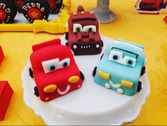 THE PARTY PROJECT | Cars chocolate figures! - cars party ideas