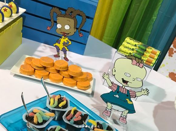 Rugrats Party Ideas Tommy Pickels Party Ideas Boho Baby Dreams