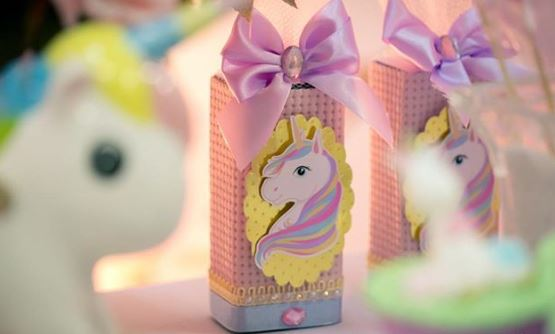 Unicorn Birthday party idea-Unicorn Birthday- Unicorn party boxes-Unicorn favor Boxes-by the party project.