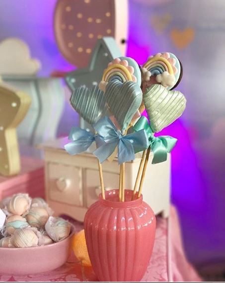 Rain of Love party ideas by The Party Project