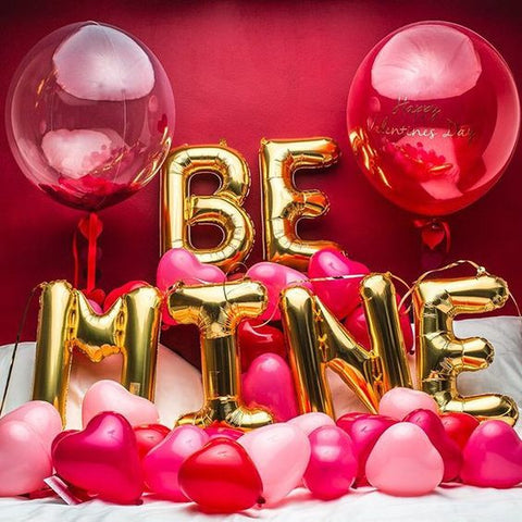 Valentine's day surprise decoration, balloons and gifts ideas | The Party Project Blog.