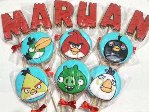 The Party Project - Kids party ideas - Angry Birds blog