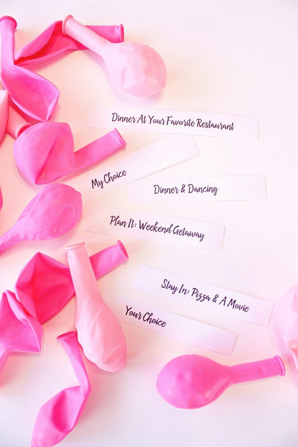 Valentines day tips to surprise yuor couple | The Party Project blog.