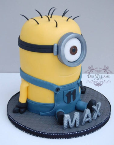 THE PARTY PROJECT | Blog - Minions party ideas - Minion 3d cake