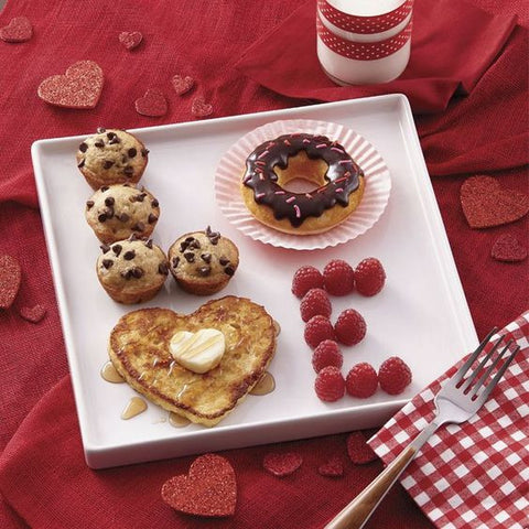 Valentines day lovely breakfast idea - The Party Project blog
