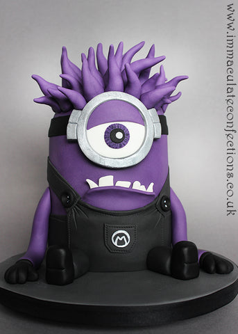 THE PARTY PROJECT | Blog - Minions party ideas Purple Minion cake