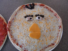 Mathilda - Angry Birds cheese pizza