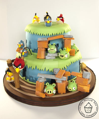 Angry Birds food ideas - Cake options