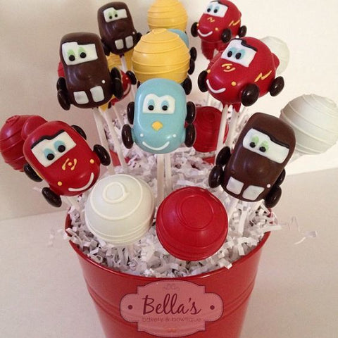 THE PARTY PROJECT | Cars cake pops and treat ideas!