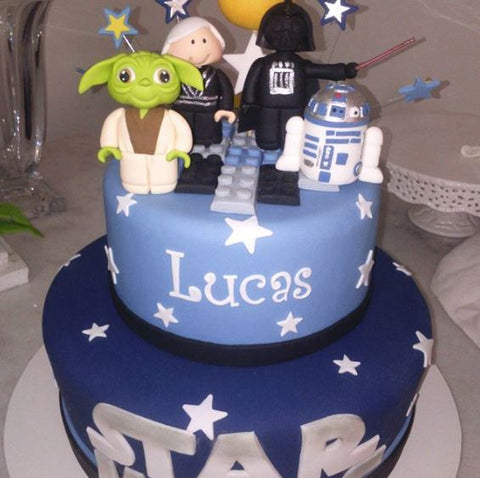 Star Wars birthday cake idea by thepartyproject.us