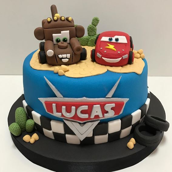 The Party Project | Lightning McQueen and Mater cake!