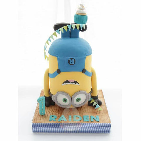 THE PARTY PROJECT | Blog - Minions party ideas Minions cake by C for Cupcakes
