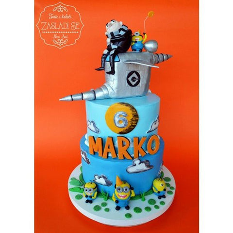 THE PARTY PROJECT Blog best minion cake ideas