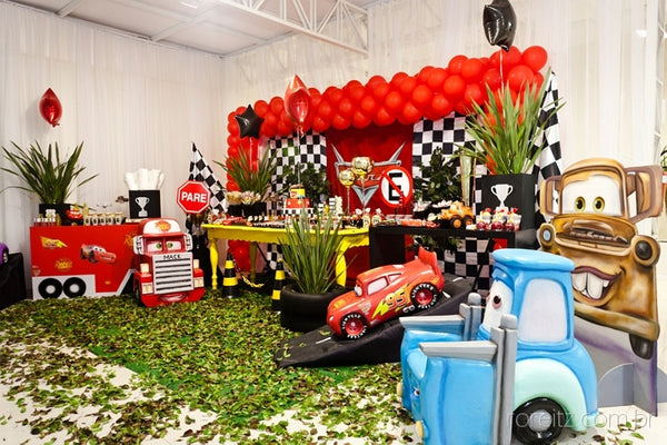 The Party Project | Cars themed party ideas!