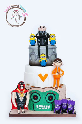 The Party Project blog | Despicable me cake ideas