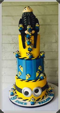 The Party Project Despicable me party ideas - cakes