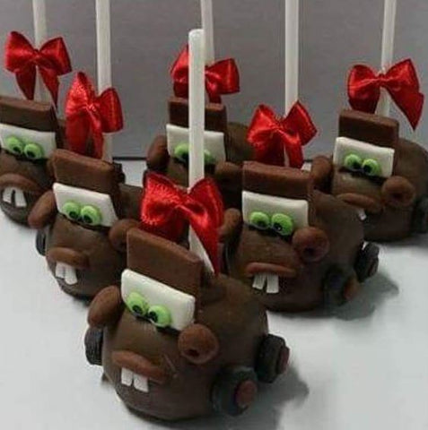 The Party Project | Mater chocolate covered apples!