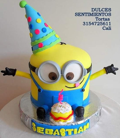 THE PARTY PROJECT | Blog - Minions party ideas Minions birthday cake