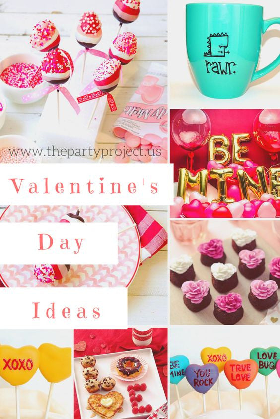 Best DIY Valentines Day ideas! Couples gifts and decorations, Treat tutorials and breaksfast recipes! | The Party Project blog.