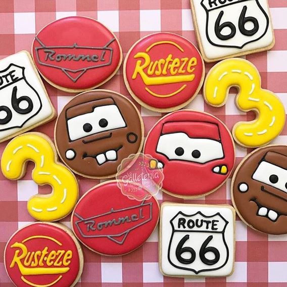 The Party Project | Cars cookies!