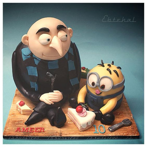 THE PARTY PROJECT | Blog - Minions party ideas Gru with Minion cake