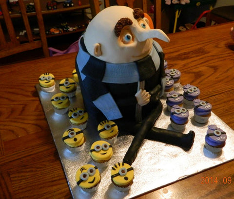 THE PARTY PROJECT | Blog - Minions party ideas Gru cake