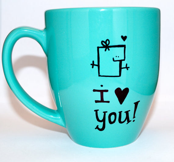 Valentines day Mugs, gift ideas for him or her | The Party Project Blog.